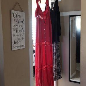 Long boho dress